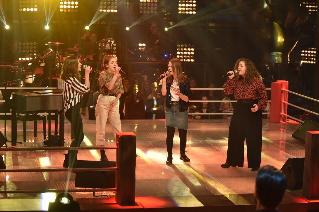 Battle: Mimi & Josefine, Greta und Kimberly - Bildquelle: SAT.1 / Andre Kowalski