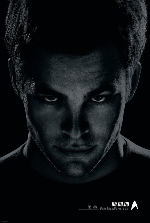 Star Trek - Artwork - James Tiberius Kirk (Chris Pine) - Bildquelle: Paramount Pictures