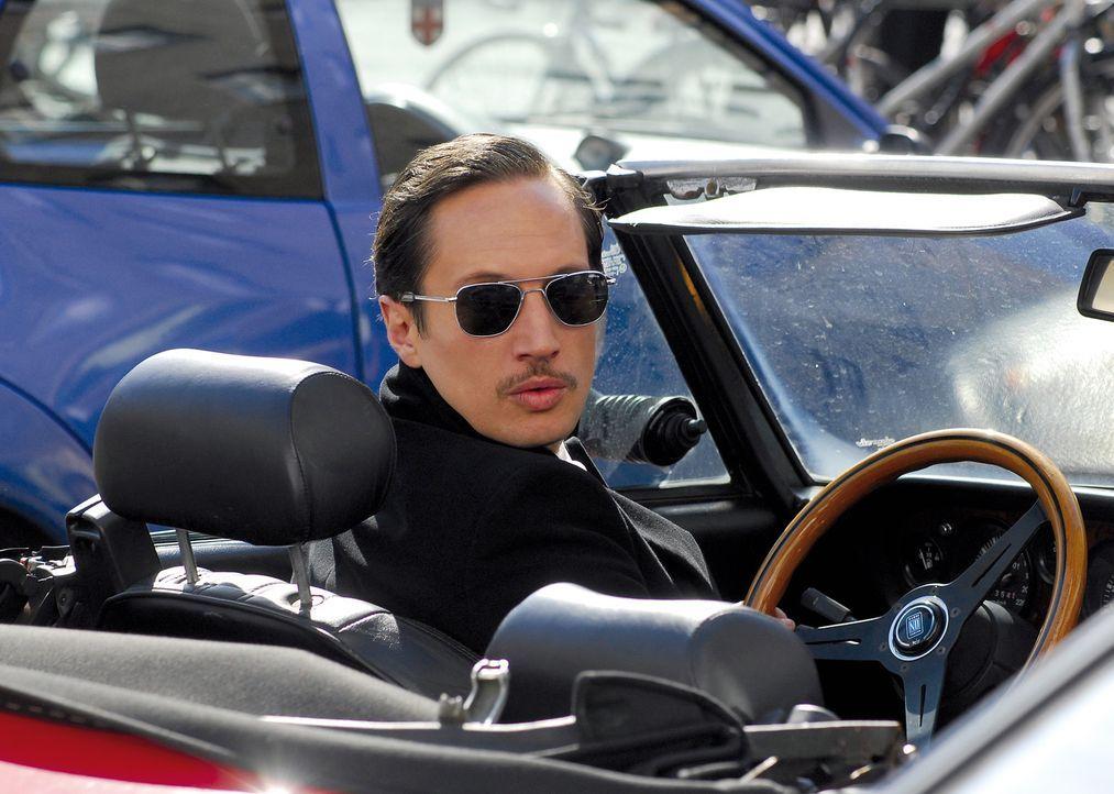 Nichts ist für Jan (Benno Fürmann) so unantastbar wie sein geliebtes Cabrio. Bis seine Freundin ins Visier eines charmanten Weltenbummlers gerät... - Bildquelle: 2007 Constantin Film Verleih, München