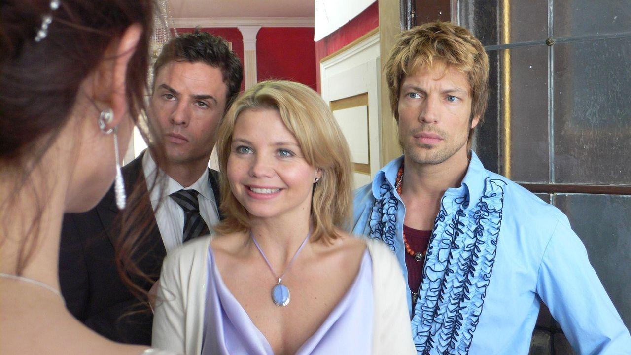 Je t'aime - nur, wer liebt wen? (v.l.n.r.) Paul (Stephan Luca), Nina (Annette Frier) und Jerome (Mickey Hardt) ? - Bildquelle: ProSieben