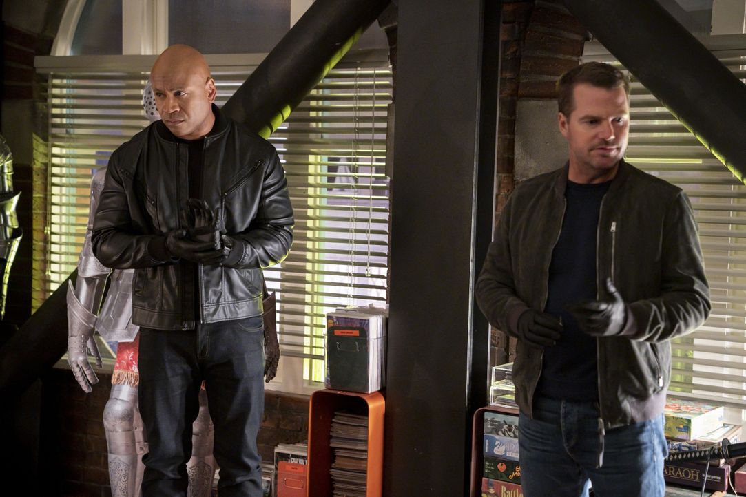 Sam Hanna (LL Cool J, l.); G. Callen (Chris O'Donnell, r.) - Bildquelle: Robert Voets 2019 CBS Broadcasting, Inc. All Rights Reserved. / Robert Voets