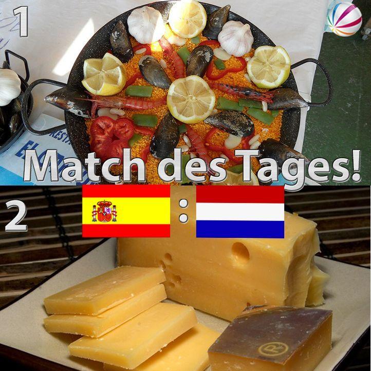 Spanien vs. Niederlande