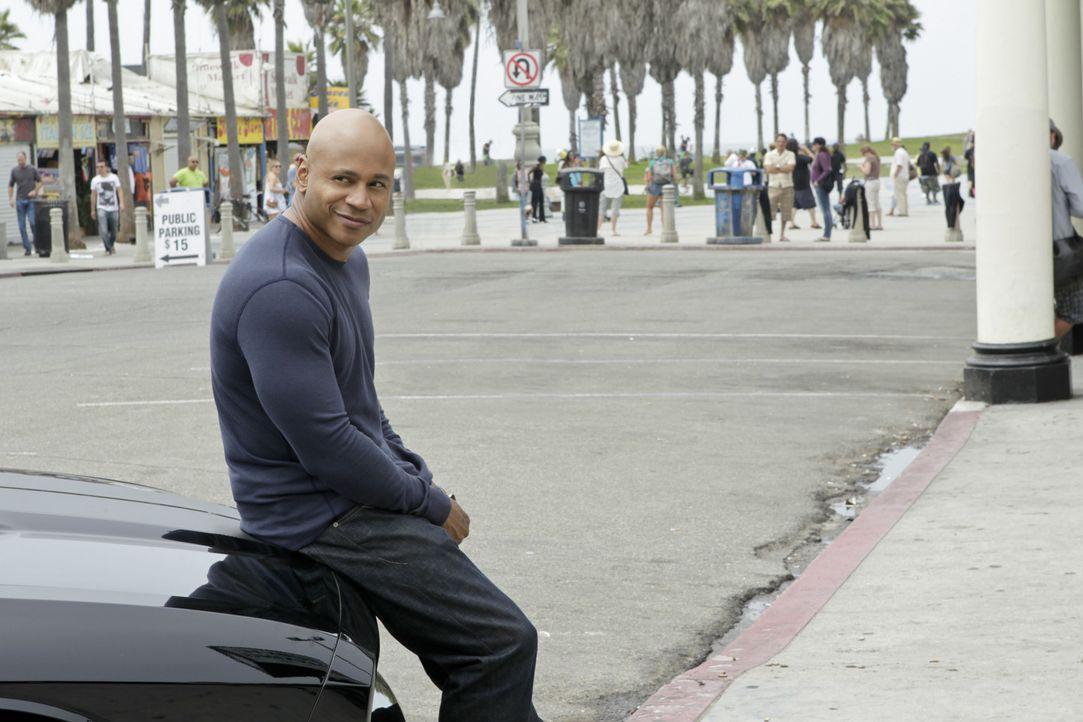 Ermittelt Undercover im sonnigen Kalifornien um die nationale Sicherheit zu wahren: Sam (LL Cool J) ... - Bildquelle: CBS Studios Inc. All Rights Reserved.