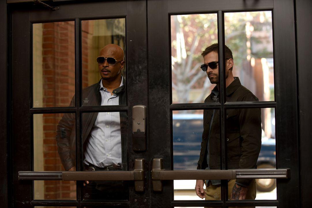 Roger Murtaugh (Damon Wayans, l.); Wesley Cole (Seann William Scott, r.) - Bildquelle: Ray Mickshaw 2019 Warner Bros. Entertainment Inc. All Rights Reserved.