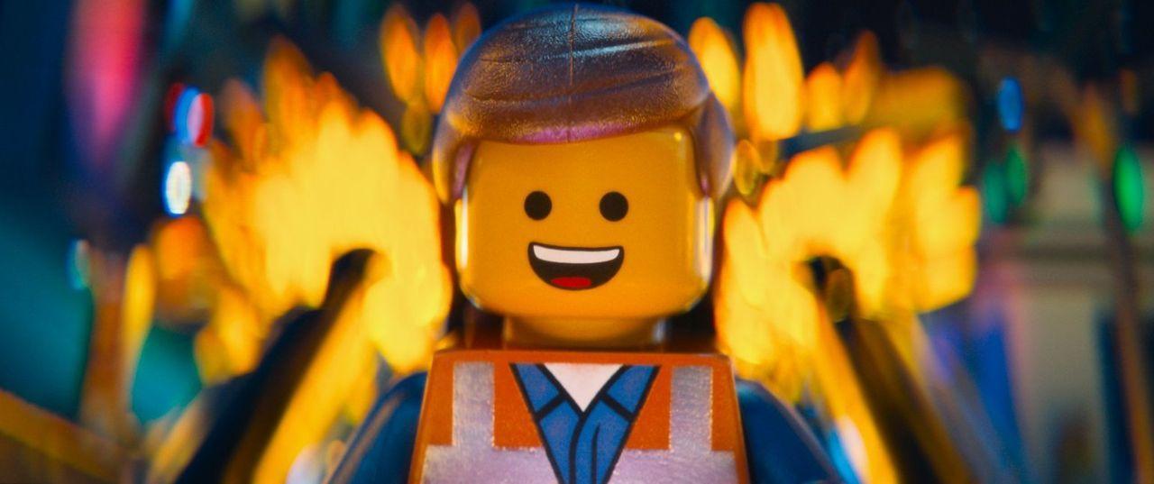 Der liebenswerte Emmet (Bild) ist Bauarbeiter und befolgt alle Regeln, die von Präsident Lord Business aufgestellt werden. Als er jedoch zufällig da... - Bildquelle: 2014 Warner Brothers