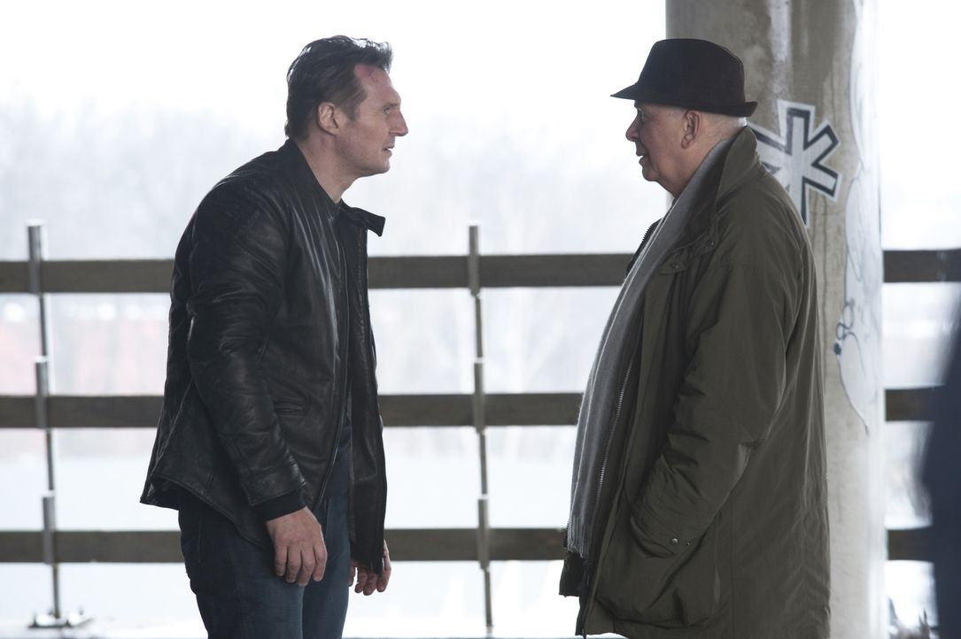 Dr. Martin Harris (Liam Neeson, l.); Rodney Cole (Frank Langella, r.) - Bildquelle: Jay Maidment 2011 DARK CASTLE HOLDINGS, LLC/STUDIOCANAL S.A. / Jay Maidment