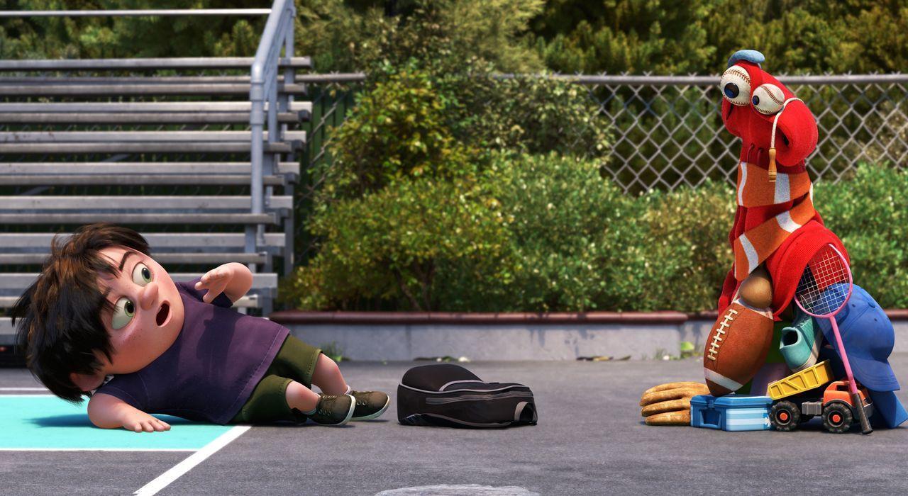 J.J. (l.); Lou (r.) - Bildquelle: 2017 Disney Pixar. All Rights Reserved.