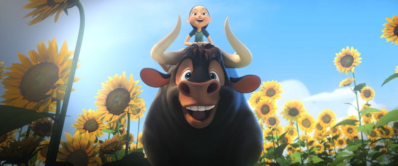 (vorne) Ferdinand; (hinten) Nina - Bildquelle: 2017 Twentieth Century Fox Film Corporation. All rights reserved.