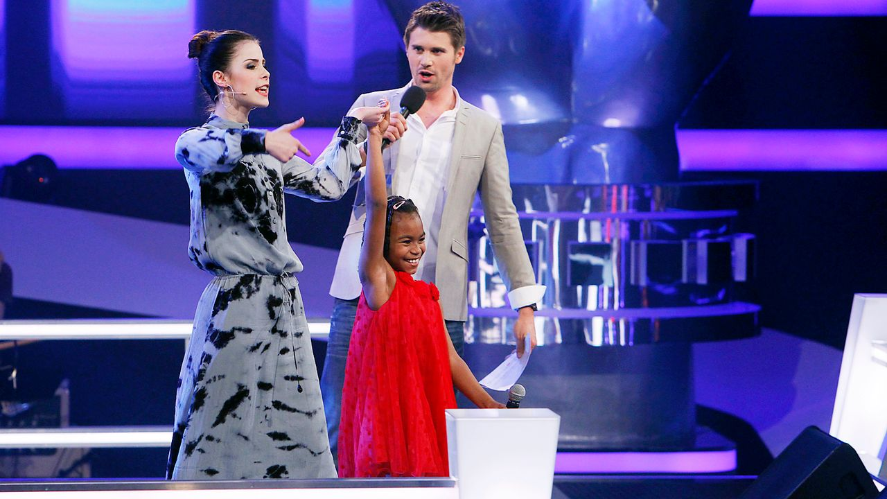 The-Voice-Kids-epi05-Chelsea-4-SAT1-Richard-Huebner - Bildquelle: SAT.1/Richard Hübner
