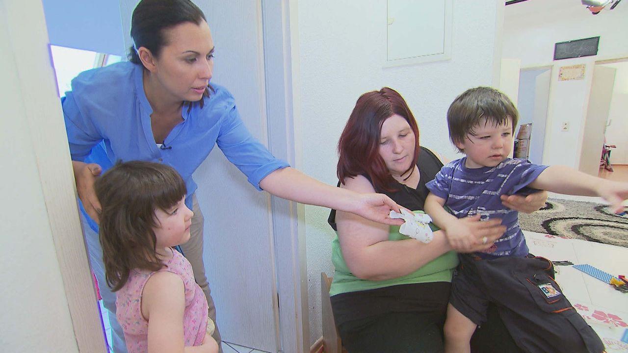 Mission Familie: Hyperaktive Kinder, Jugendliche, die auf die schiefe Bahn geraten, Familienalltag zwischen Schweigen und Schreien - wo Eltern und K... - Bildquelle: SAT.1