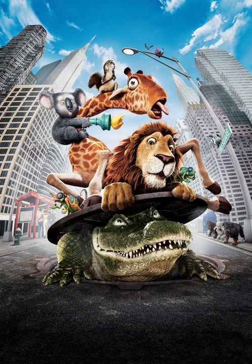 Die Bewohner des New Yorker Zoos gehen auf große Reise ... - Bildquelle: Disney Enterprises, Inc.  All rights reserved