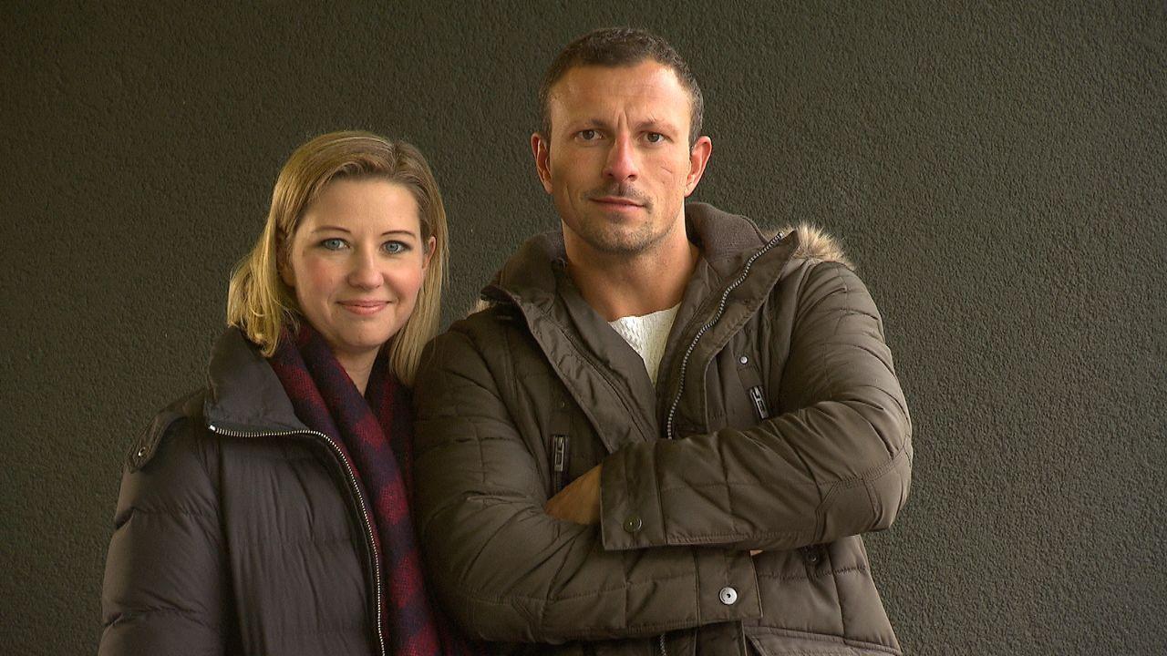 Stefanie Beck und Manuel Wagner - Bildquelle: © SAT.1