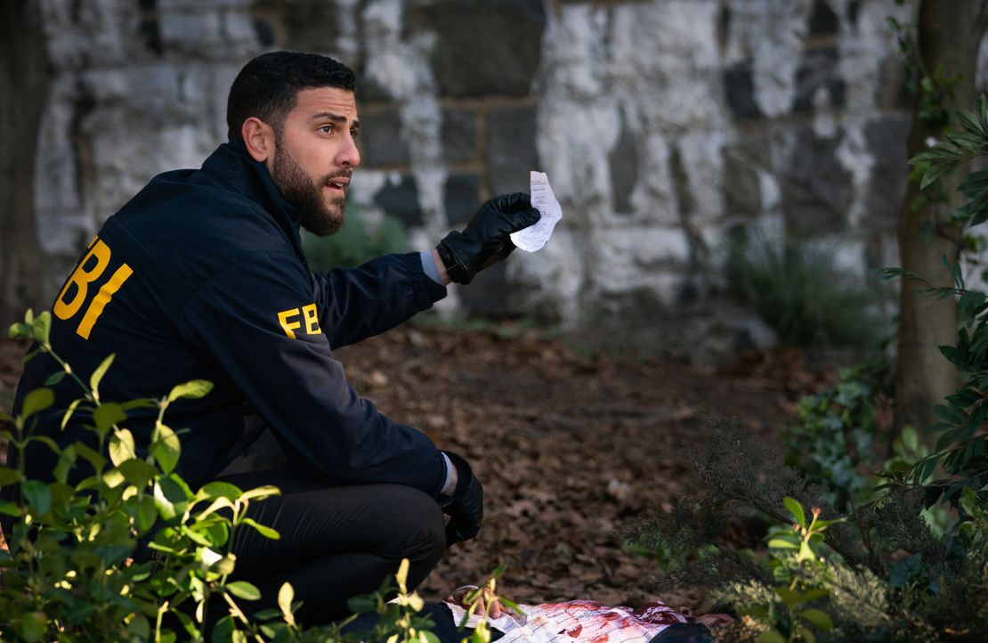 Special Agent Omar Adom 'OA' Zidan (Zeeko Zaki) - Bildquelle: Mark Schafer 2020 CBS Broadcasting, Inc. All Rights Reserved. / Mark Schafer