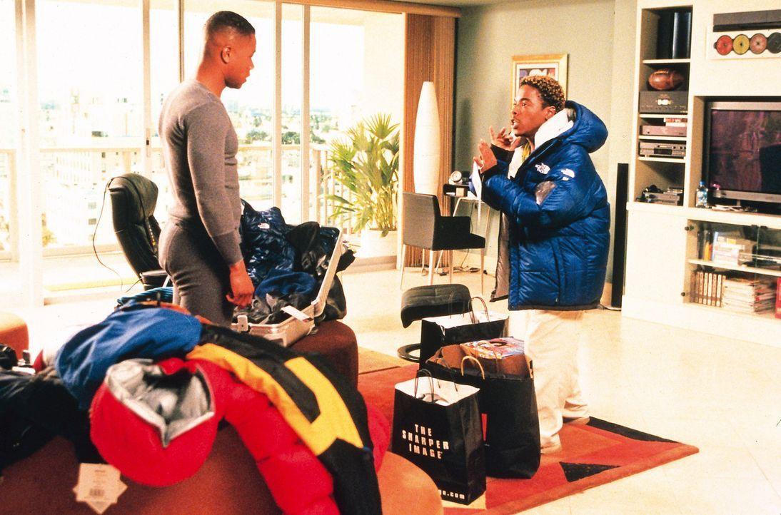 Die Koffer sind gepackt: Teds (Cuba Gooding jr., l.) Reise nach Alaska steht nichts mehr im Wege ... - Bildquelle: Disney Enterprises, Inc.