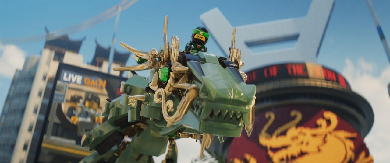 Lloyd - Bildquelle: 2017 Warner Bros. Entertainment Inc. and Ratpac-Dune Entertainment LC. LEGO, the LEGO logo, the Minifigure and NINJAGO are © & TM of the LEGO Group.