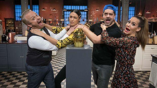 Das Große Promibacken - Das Große Promibacken - Folge 6: Vier Finalisten Kämpfen Um Einen Goldenen Cupcake Und 10.000 Euro