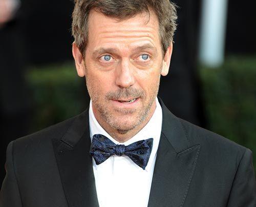Wenn der amerikanische Schauspieler-Verband die besten Schauspieler des Jahres kürt, trifft sich die Creme der ganzen Branche  Hugh Laurie  - Bildquelle: AFP