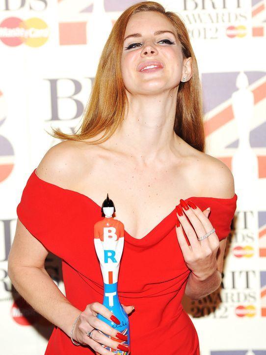 brit-awards-12-02-21-Lana-Del-Ray-dpa - Bildquelle: dpa
