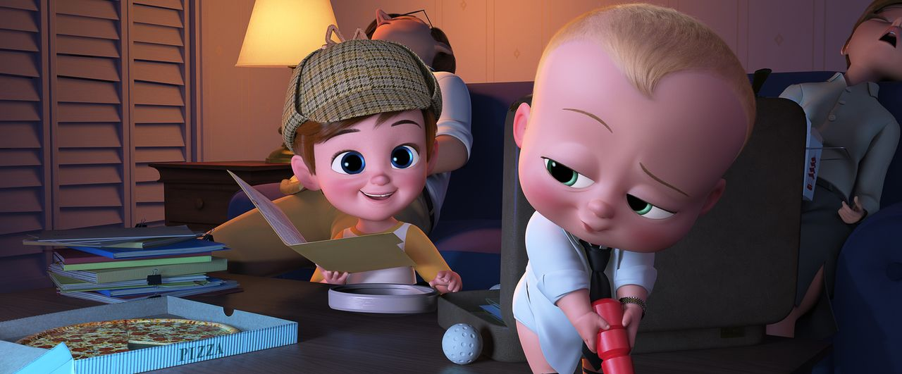 Tim (l.); Boss Baby (r.) - Bildquelle: 2017 DreamWorks Animation, L.L.C.  All rights reserved.