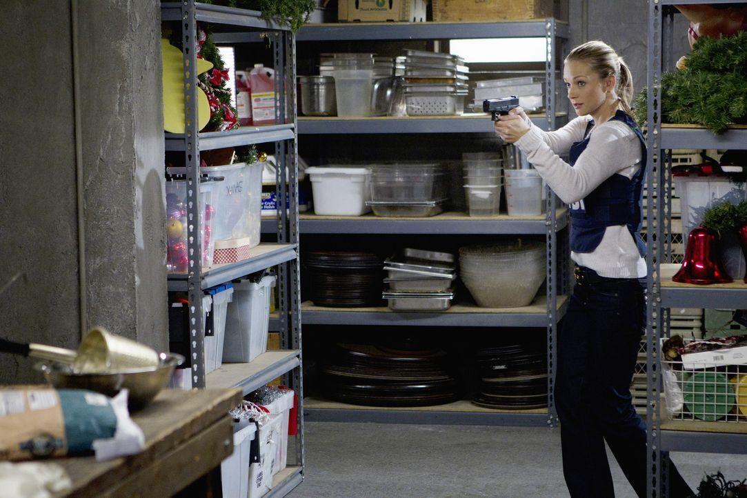 Versucht einen Serientäter zu stellen: JJ (AJ Cook) ... - Bildquelle: ABC Studios
