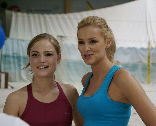 Geschafft, aber stolz auf ihre Leistung: Sonja und Verena. Super geschlagen, Mädels! - Bildquelle: Danilo Brandt - Sat.1