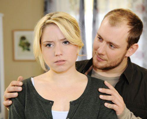 Miriam gesteht Piet dass sie mit Sebastian geschlafen hat. - Bildquelle: Christoph Assmann - Sat1