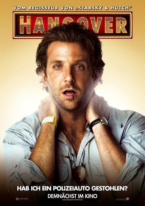 Hab' ich ein Polizeiauto gestohlen? Phil (Bradley Cooper) ... - Bildquelle: Warner Brothers