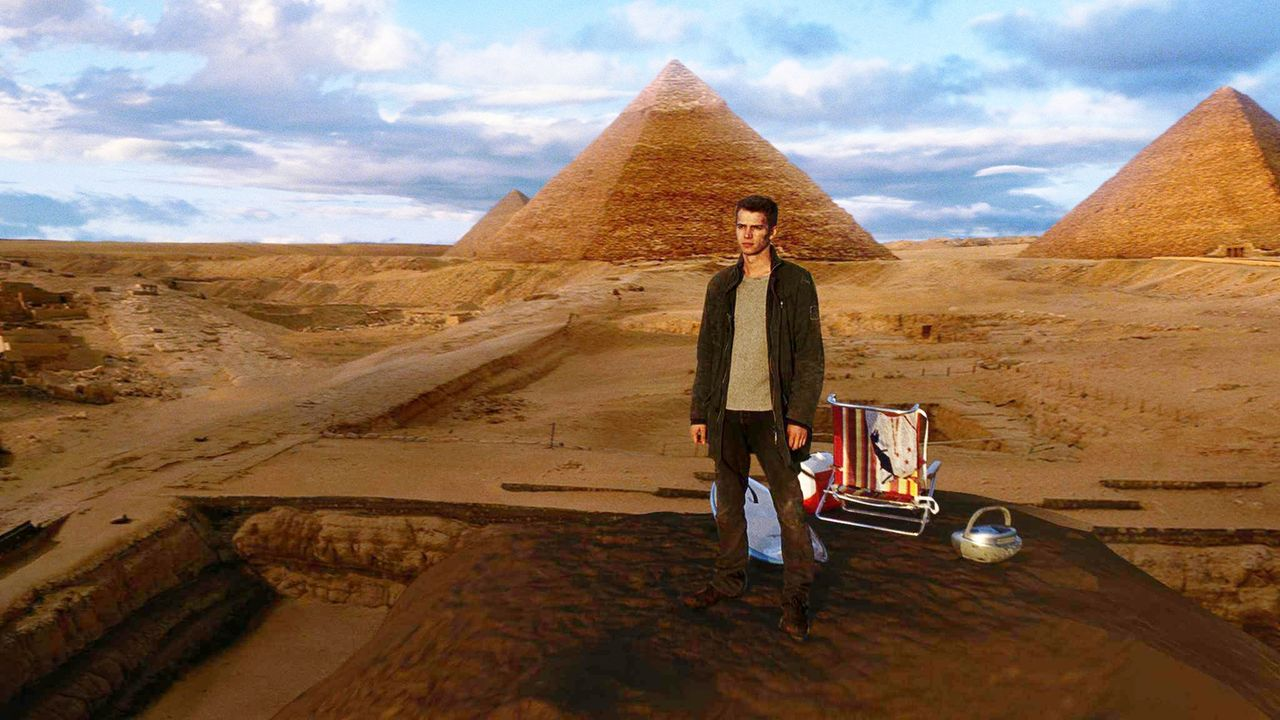 """Jumper - Artwork - David Rice (Hayden Christensen) entdeckt durch Zufall, dass er ein """"Jumper"""" ist. Sekundenschnell kann er nach Tokio teleporten, i... - Bildquelle: 2007 Epsilon Motion Pictures GmbH"""