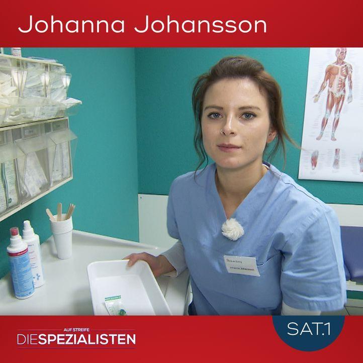 Johanna Johansson - Bildquelle: SAT.1