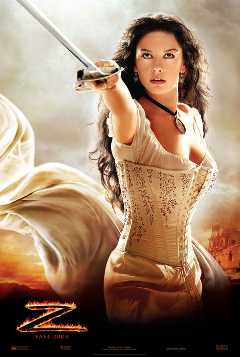 Die Legende des Zorro mit Catherine Zeta-Jones - Bildquelle: Sony Pictures Television International. All Rights Reserved.