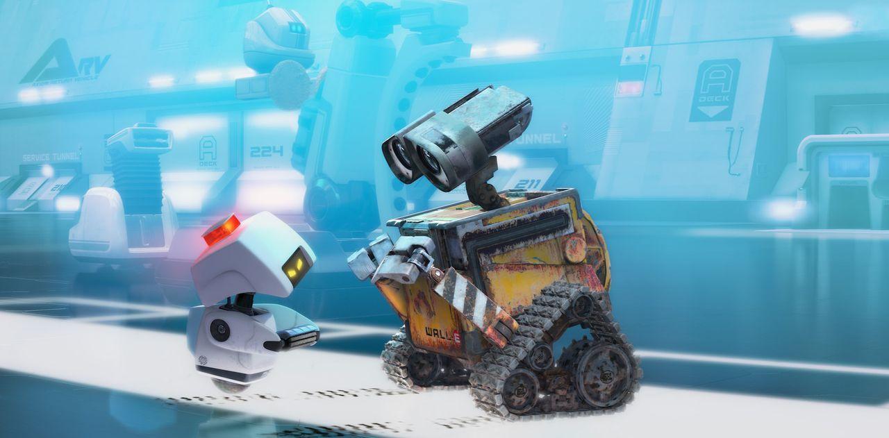 M-O ist ein Reinigungsroboter, der darauf geschult wurde, hochmoderne Roboter wie EVE zu reinigen. Als plötzlich Wall-E vor ihm steht, weiß er nic... - Bildquelle: Touchstone Pictures