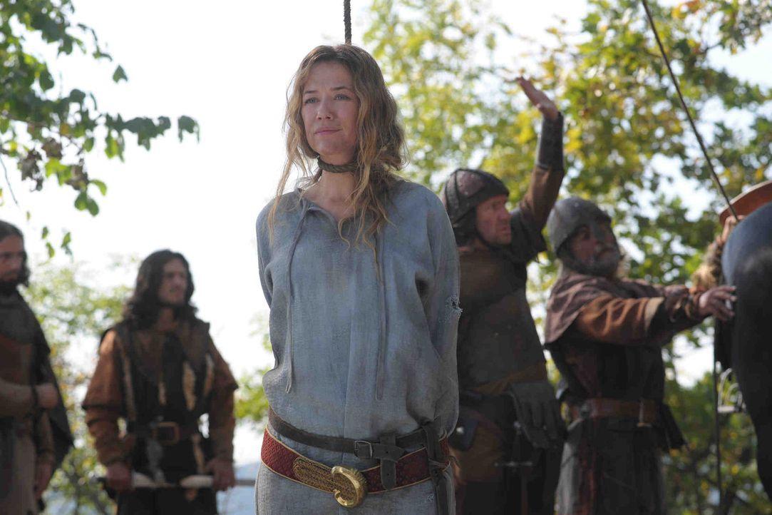 Als Marie (Alexandra Neldel, r.) in die Hände der Hussiten fällt, scheint ihr letztes Stündlein geschlagen zu haben ... - Bildquelle: SAT. 1