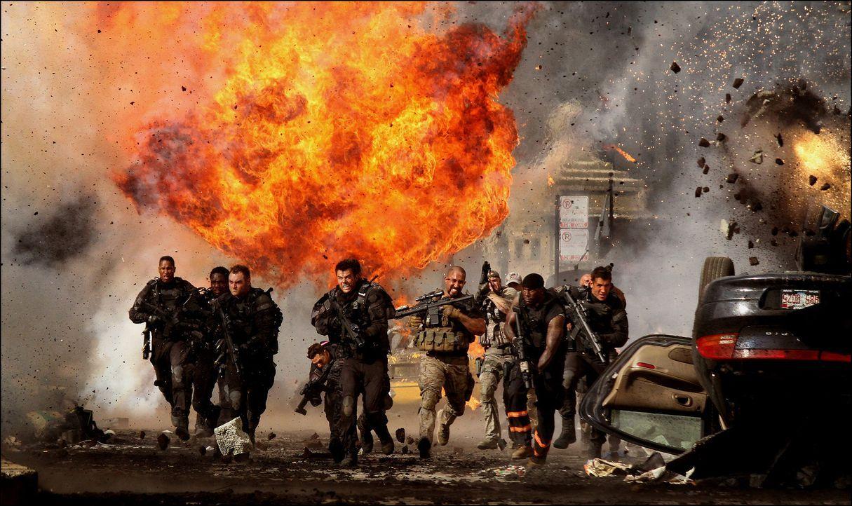 Die alles entscheidende Schlacht beginnt ... - Bildquelle: 2010 Paramount Pictures Corporation.  All Rights Reserved.