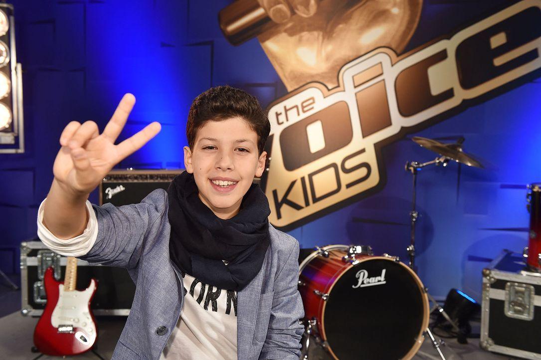 The-Voice-Kids-Stf04-Epi03-Matteo-04-SAT1-Andre-Kowalski - Bildquelle: SAT.1/ André Kowalski