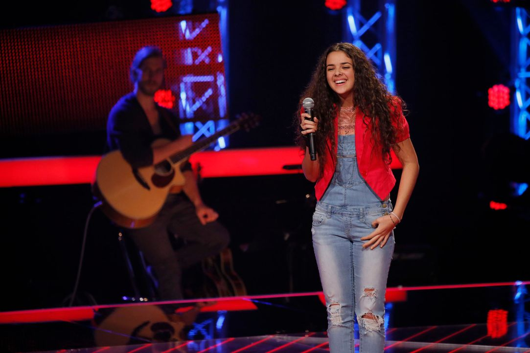 The-Voice-Kids-s04e02-Shanice-2-SAT1-Richard-Huebner - Bildquelle: © SAT.1/ Richard Hübner