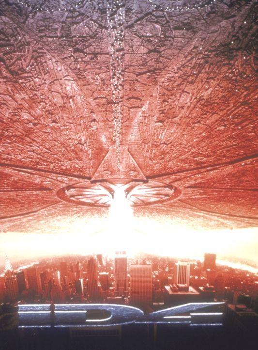 Ein gigantisches Raumschiff von einem fernen Planeten bedroht die gesamte Menschheit ... - Bildquelle: 20th Century Fox Film Corporation