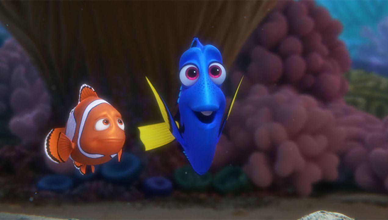 Nemo (l.); Dorie (r.) - Bildquelle: Disney/Pixar