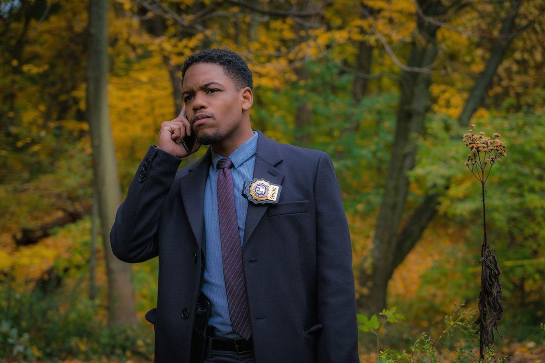 Wie sollen Bell (Jon Michael Hill) und das Team einen Mord lösen, wenn alle möglichen Beweise mit einer Bombe in die Luft gesprengt worden sind? - Bildquelle: 2015 CBS Broadcasting Inc. All Rights Reserved.