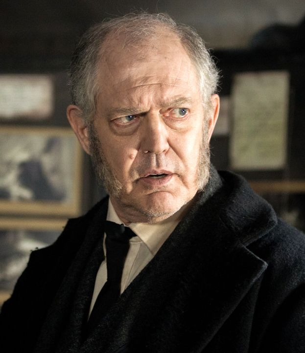 Jack the Ripper: Peter Gilbert Cotton als Chief Inspector Ronald Briggs - Bildquelle: Foto: © SAT.1/Algimantas Babravicius