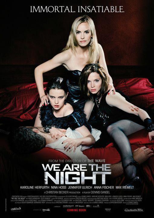 Wir sind die Nacht - Plakatmotiv - Bildquelle: 2010 Constantin Film Verleih GmbH.