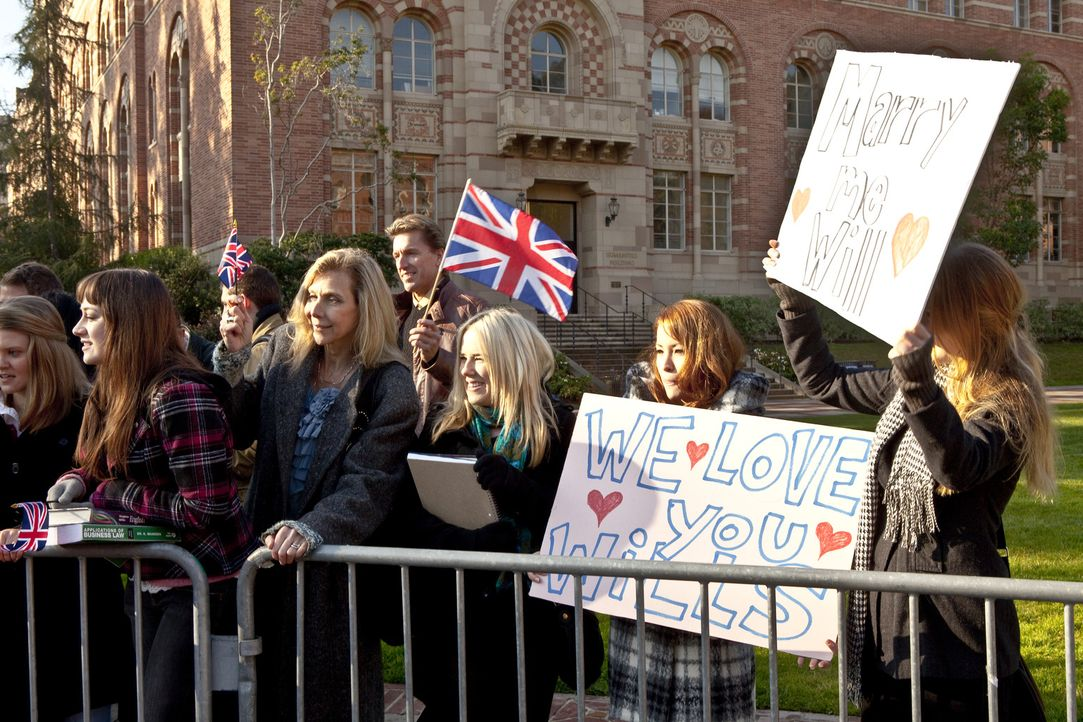 Begehrter Jungegeselle: Noch weiß die Öffentlichkeit nichts über Prinz Williams  Beziehung zu Kate Middleton. - Bildquelle: The Königsberg Company