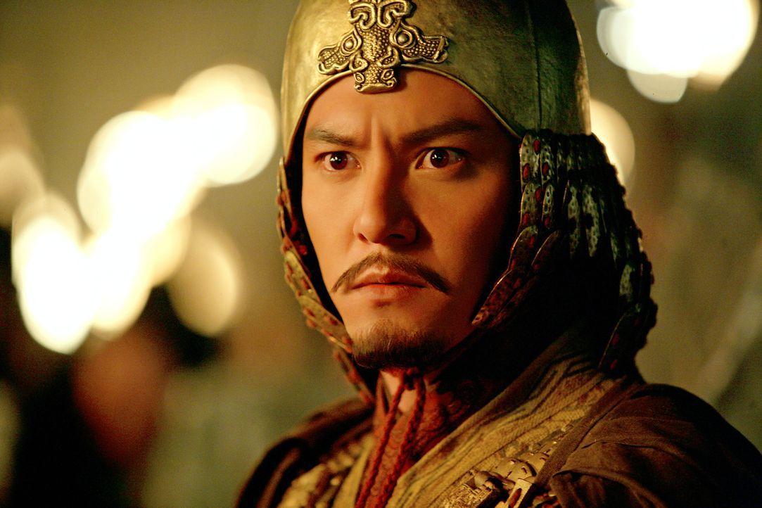 Der junge Sun Quan (Chen Chang) erkennt die Ausweglosigkeit der Lage. Wird er aufgeben? - Bildquelle: Constantin Film Verleih GmbH