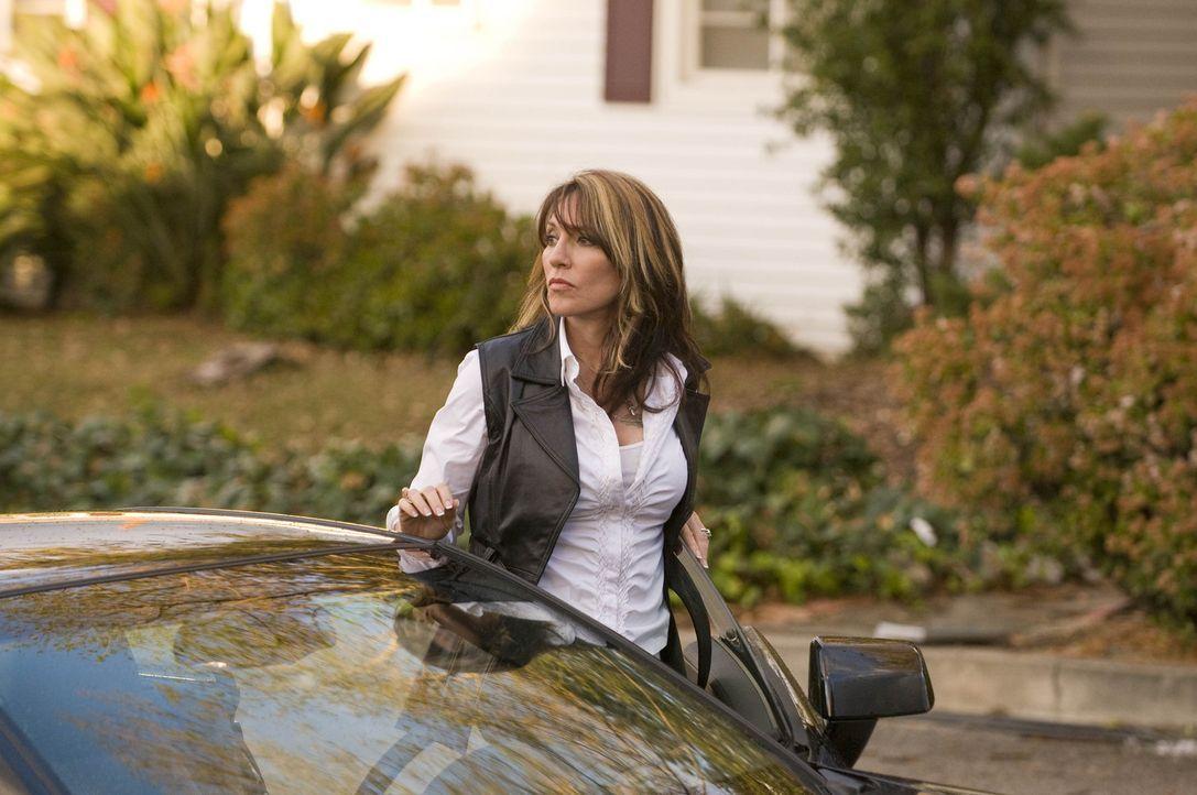 Gemma (Katey Sagal) macht sich Sorgen um ihre hochschwangere Schwiegertochter und will ihr einen Besuch abstatten. - Bildquelle: 2008 FX Networks, LLC. All rights reserved.