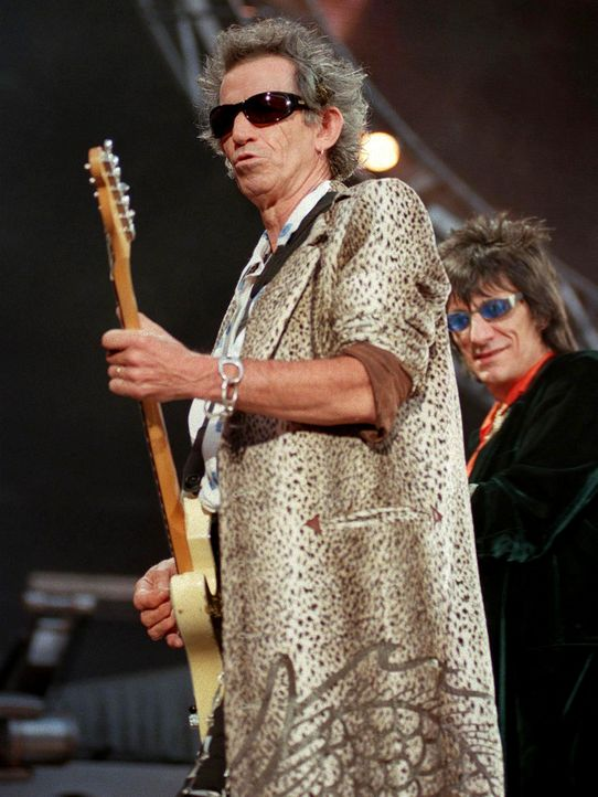 Keith-Richards-Ron-Wood-1998-07-25-AFP - Bildquelle: AFP