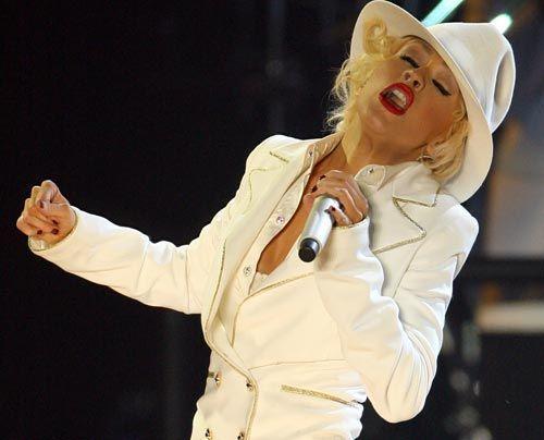 Bildergalerie Christina Aguilera | Frühstücksfernsehen | Sat.1 Ratgeber & Magazine - Bildquelle: dpa