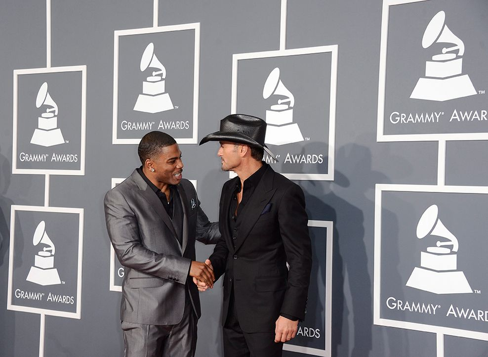Nelly und Tim McGraw - Bildquelle: +++(c) dpa - Bildfunk+++ Verwendung nur in Deutschland