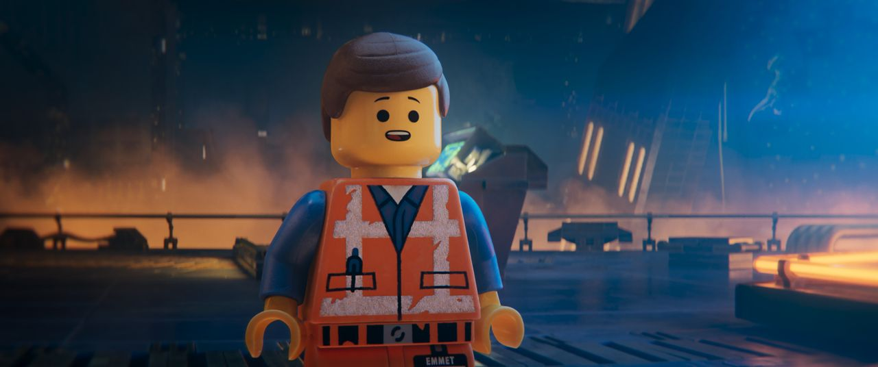Emmet - Bildquelle: Warner Bros. Entertainment Inc. LEGO, the LEGO logo and the Minifigure are trademarks of The LEGO Group. © The LEGO Group.
