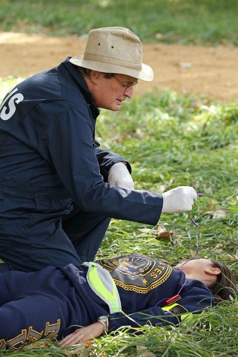 Bei den Ermittlungen: Ducky (David McCallum) ... - Bildquelle: CBS Television