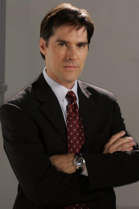 (4. Staffel) - Sorgt für Gerechtigkeit: Agent Aaron Hotchner (Thomas Gibson) ... - Bildquelle: Touchstone Television