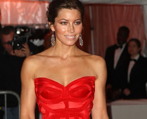 Die Leser der amerikanischen FHM haben mal wieder die «Sexiest Woman» gewählt...    Auf Platz 4: Jessica Biel - Bildquelle: getty - AFP